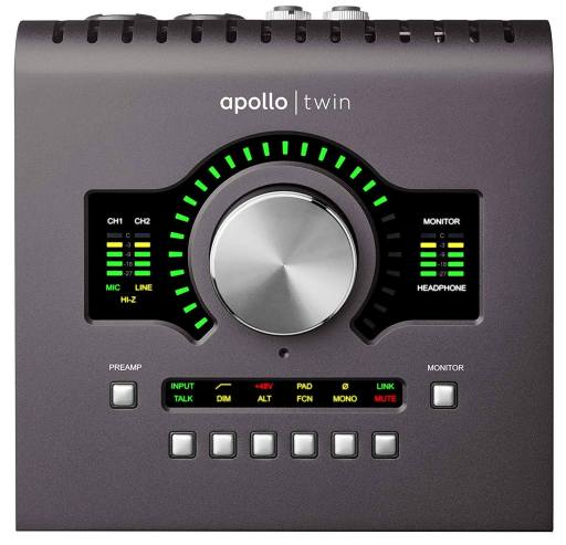 Universal Audio Apollo Twin MkII - Best Audio Interface for Mac