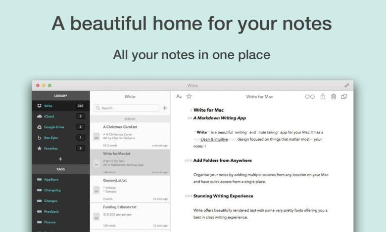 Best Note Taking App For Mac In 2020 Techowns