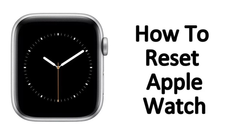 reset apple watch