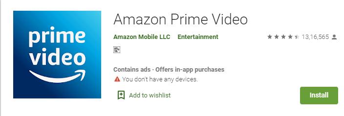 Install Amazon Prime on Mi BOX