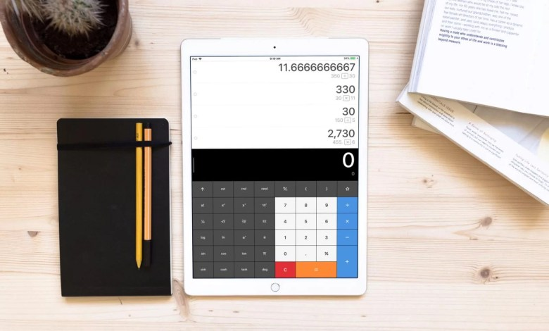 Best Calculator App for iPad