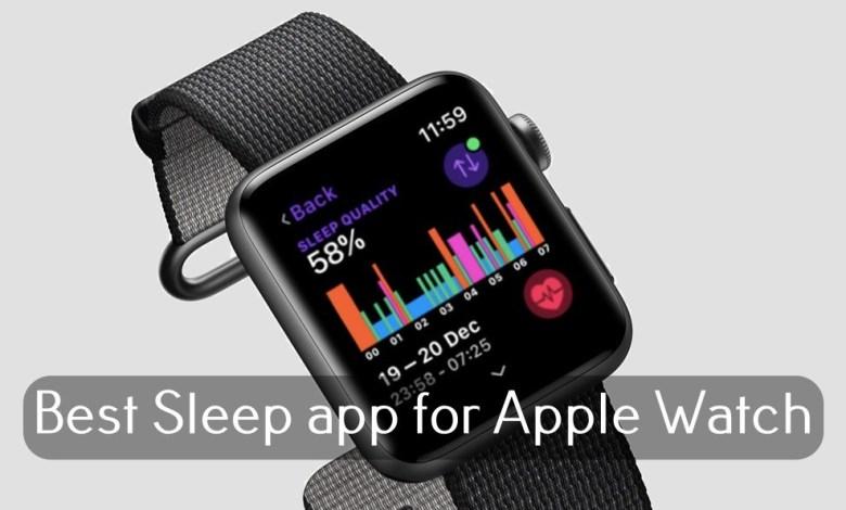 Best Sleep app for Apple Watch