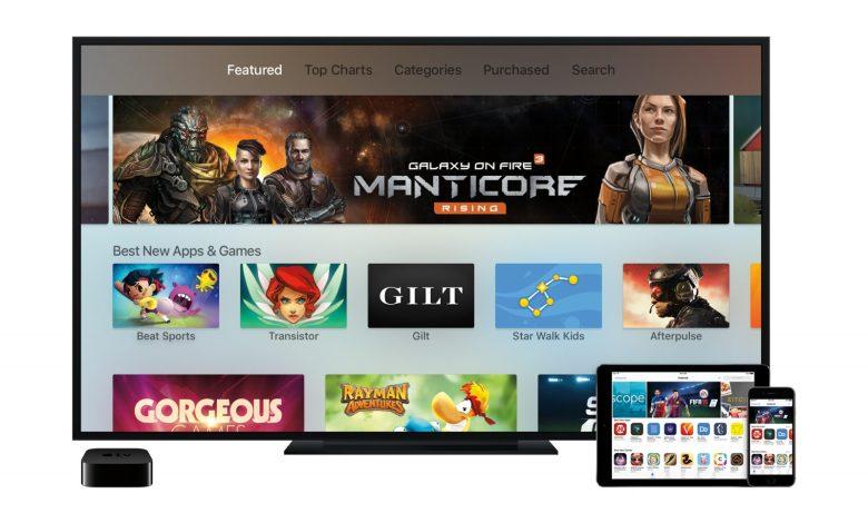 Download Apps on Apple TV