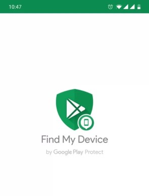 Find my Phone on Android