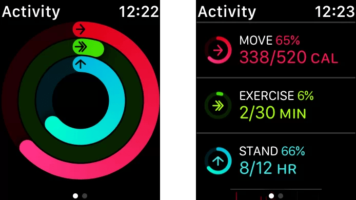 Track your Activity on Apple Watch