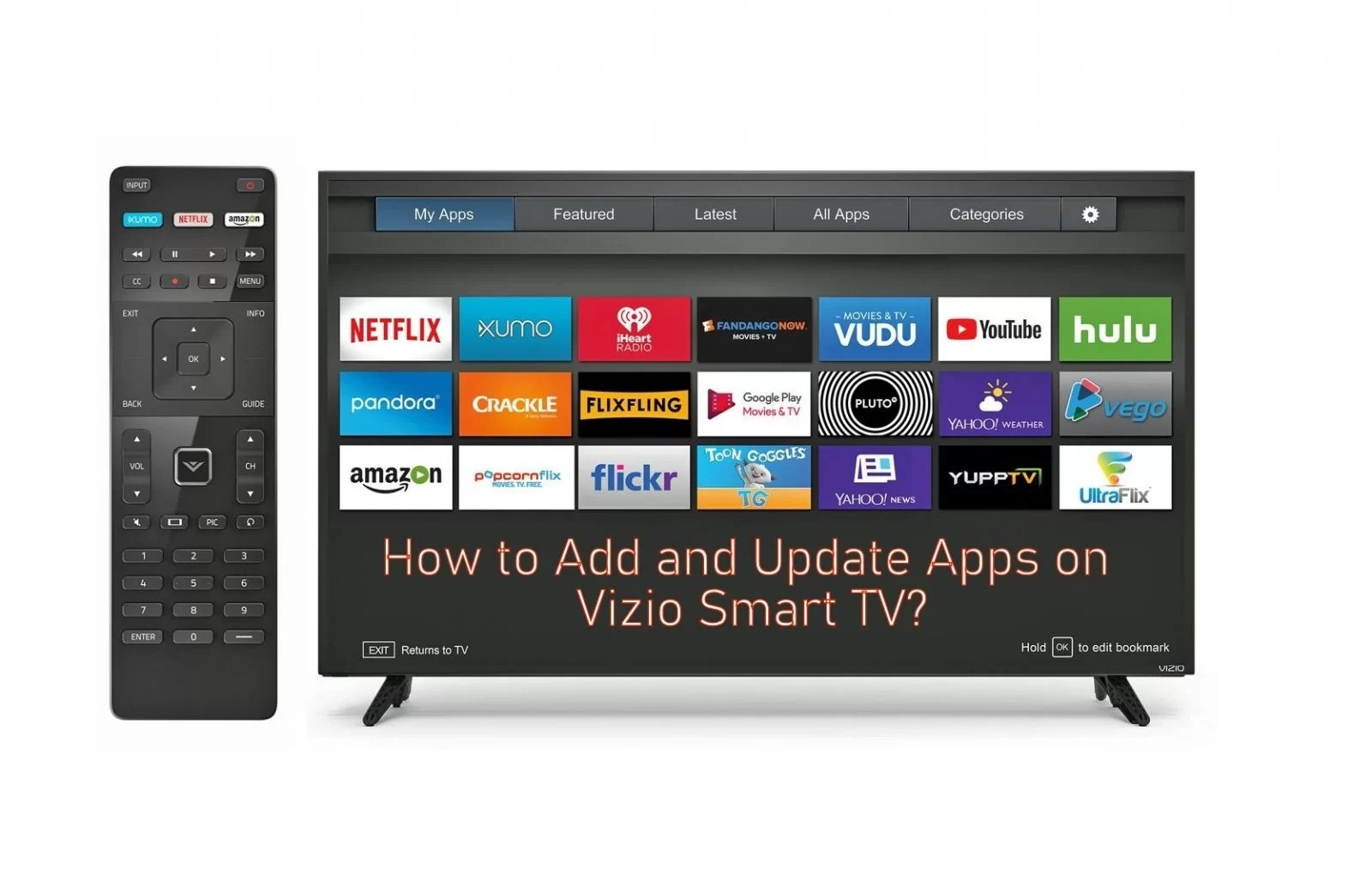 How to Add and Update Apps on Vizio Smart TV - TechOwns
