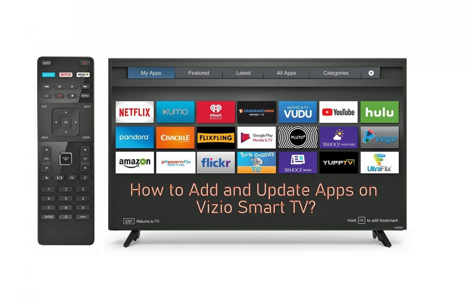Update apps on Vizio Smart TV - How To Get Disney Plus On My Smart Tv Vizio