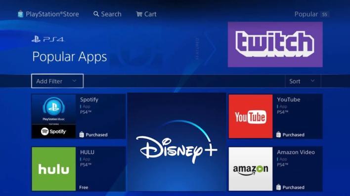 Install Disney Plus on PlayStation