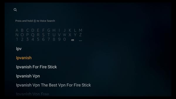Select IPVanish