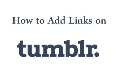 Photo of How to Add Links to Tumblr Bio [2 Methods]