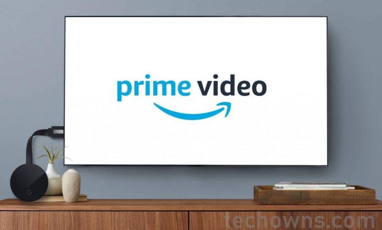 Chromecast Amazon Prime Video