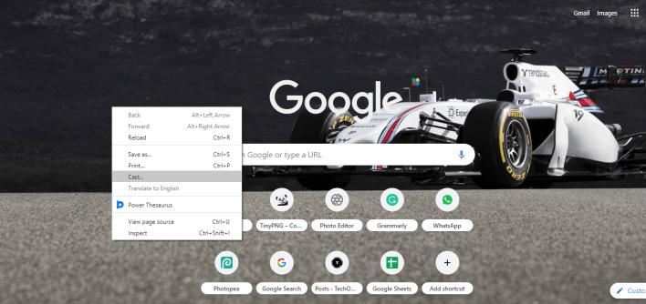 Chromecast Zwift from PC