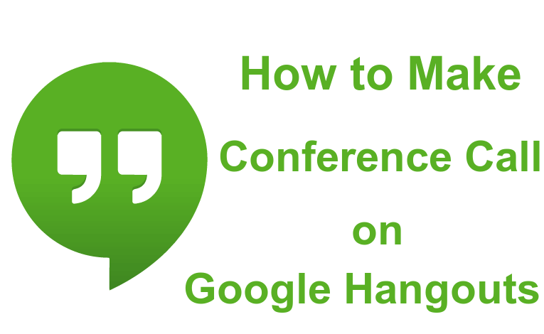 Conference Call on Hangouts
