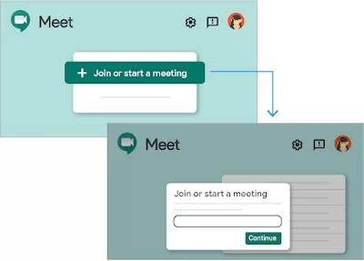 Create Hangouts Meet