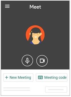 Sortu Hangouts Bilera aplikaziotik