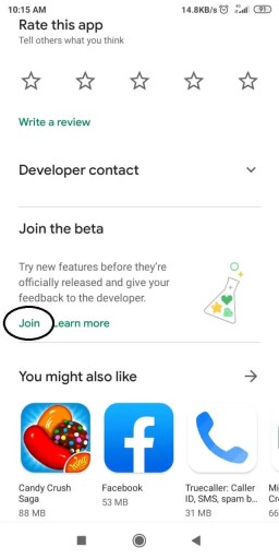 Join Beta