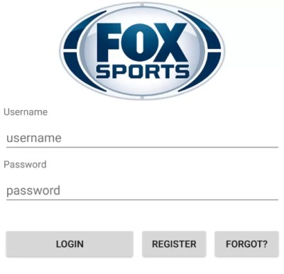 Login to Fox Sports