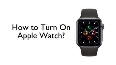 Turn on Apple Watch