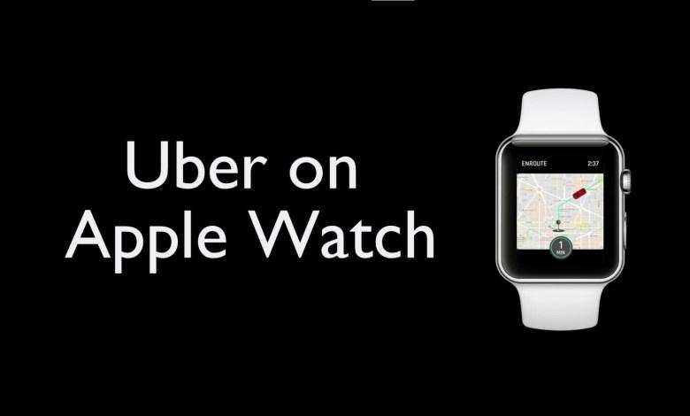 Uber on Apple Watch image