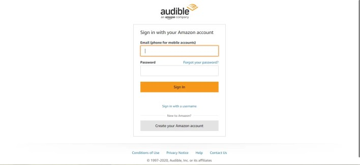 Amazon account Sign In