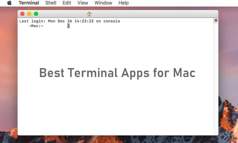 Best Terminal Apps for Mac