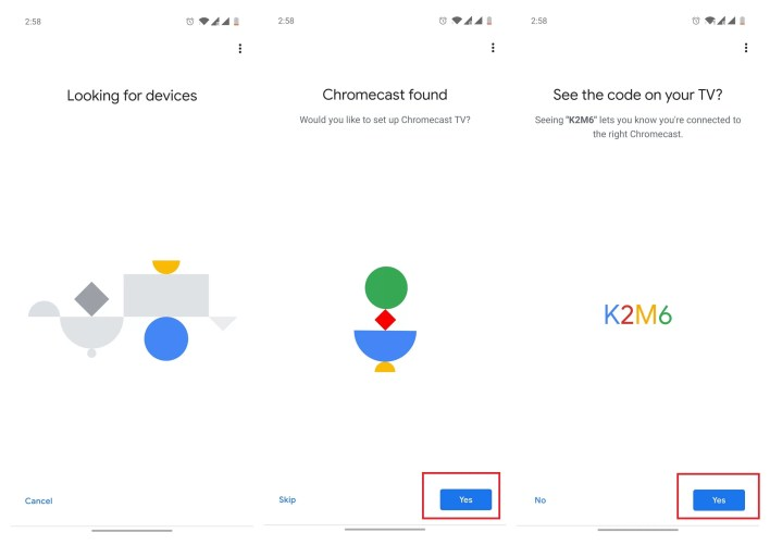 Connect Chromecast to new WiFi