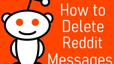 Delete Reddit Messages