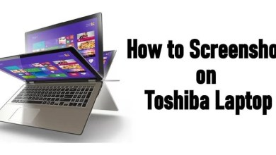 How to Screenshot on Toshiba Laptop