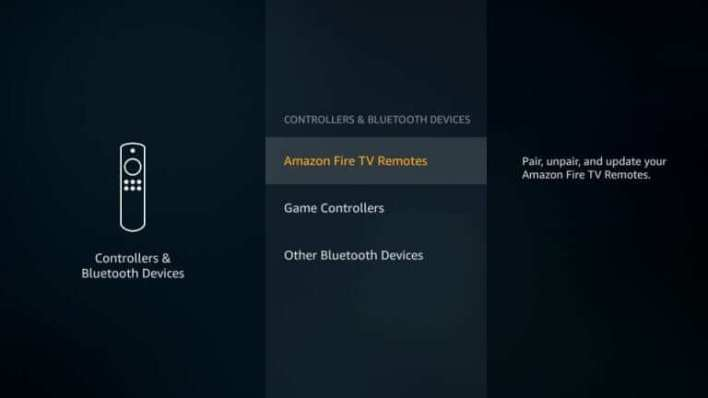 Choose Amazon Fire TV Remotes