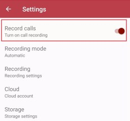 Record Calls using Automatic Call Recorder