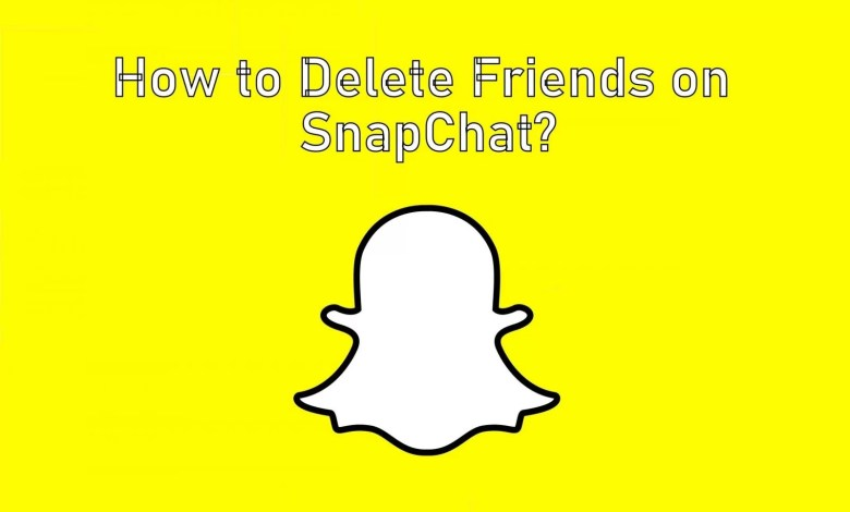 Remove Friends on Snapchat