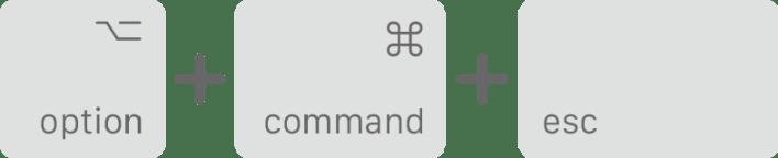 Keyboard shortcut on Mac