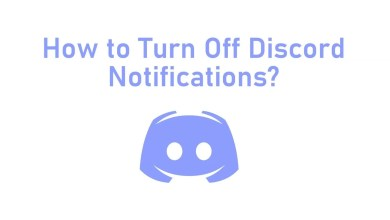 How to Turn off discord notification