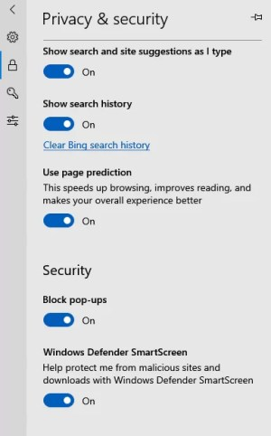 Turn on Block Pop-ups-How to Stop Pop Ups on Windows 10 using Microsoft Edge