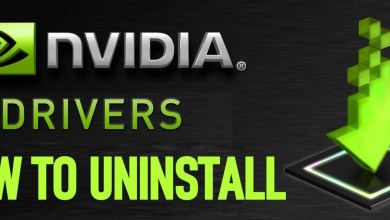 Uninstall Nvidia Drivers