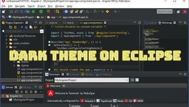 eclipse dark theme