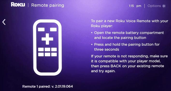 Add New Roku Remote
