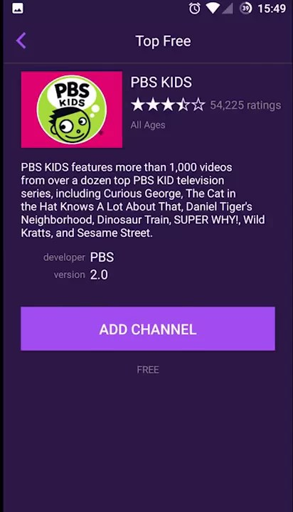 Add Channels to Roku