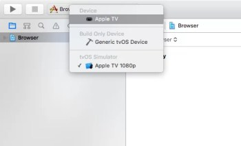 Check for Apple TV under Devices