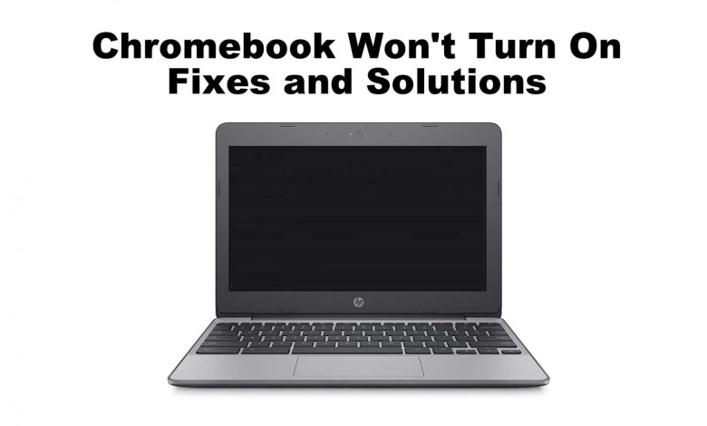 Chromebook Won't Turn On: Fixes and Solutions