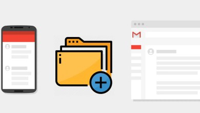 Create Folders in Gmail