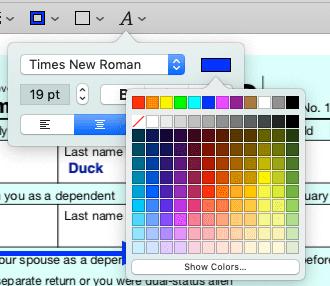 Edit a PDF on Mac