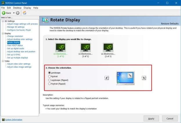 How to Rotate Screen on Windows