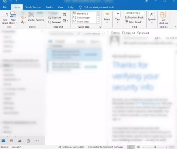 Outlook with Exchange account-How to Set Out of Office in Outlook