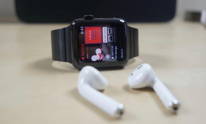Play Music on Apple Watch