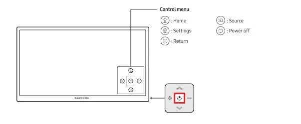 Turn on Samsung TV without Remote