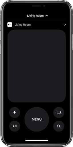 Use Apple TV Remote app