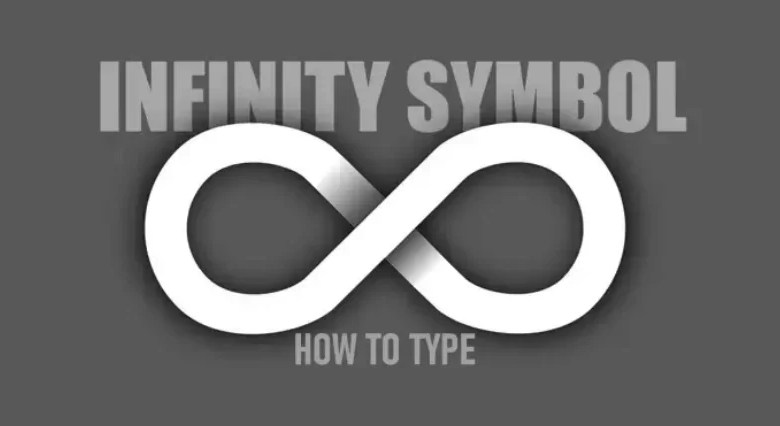 infinity symbol on keyboard