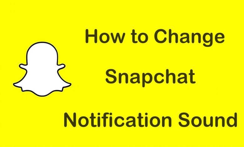Change Notification Sound on Snapchat