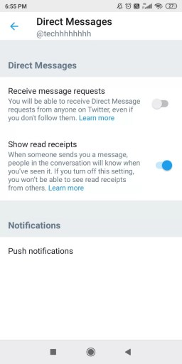 Direct Messages - How to Change Privacy Settings on Twitter